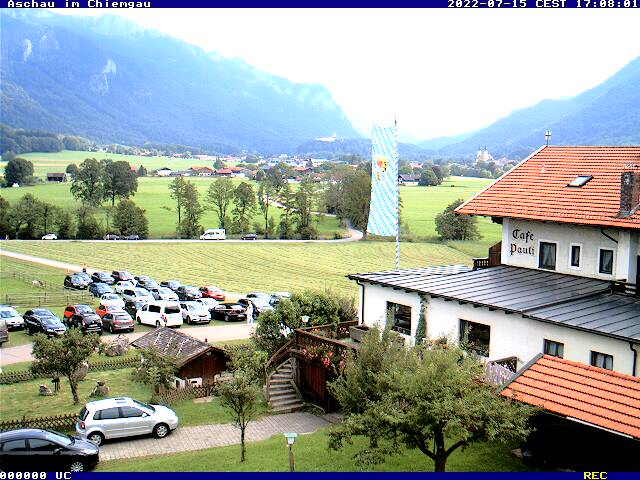 Webcam Skigebied Aschau - Kampenwand Aschau - Alpen Oberbayern