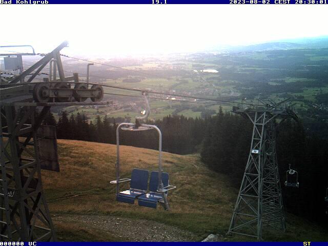 Webcam Skigebiet Bad Kohlgrub - Hörnle Oberbayern