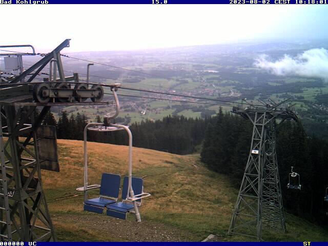 Webcam Skigebied Bad Kohlgrub - Hörnle Alpen Oberbayern