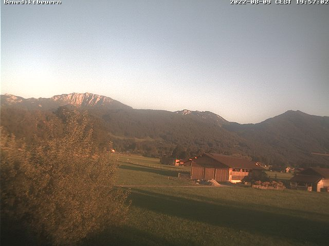 Webcam in Benediktbeuern, Tölzer Land, Bavaria