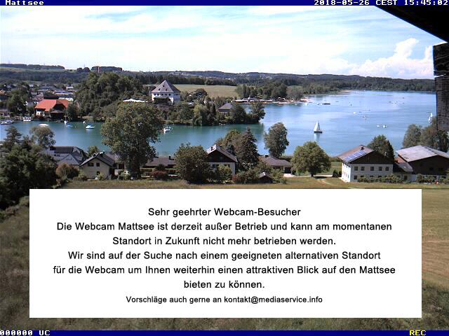 Mattsee webcam - Mattsee webcam, Salzburg, Salzburg-Umgebung