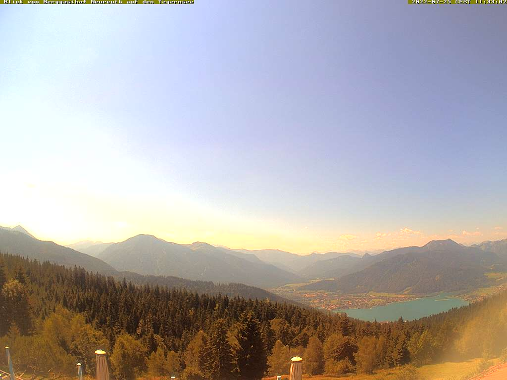 Berggasthof Neureuth am Tegernsee - Webcam