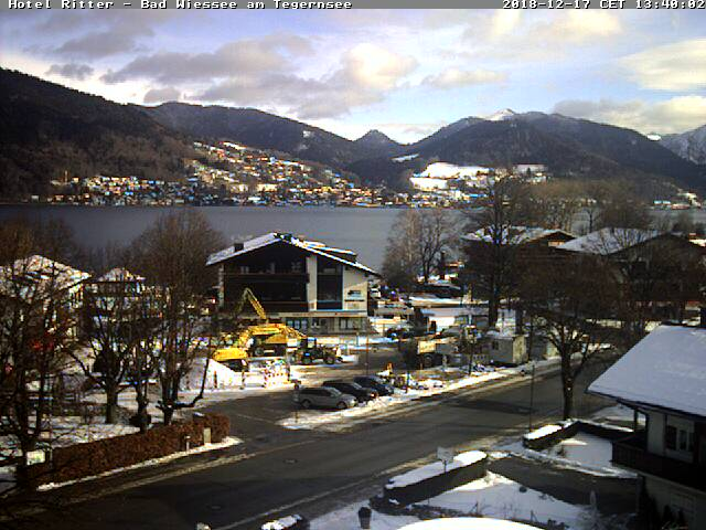 Webcam Bad Wiessee am Tegernsee Hotel Ritter