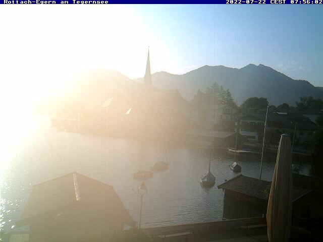 Webcam Ski Resort Rottach-Egern - Wallberg Ort - Bavaria Alps - Upper Bavaria