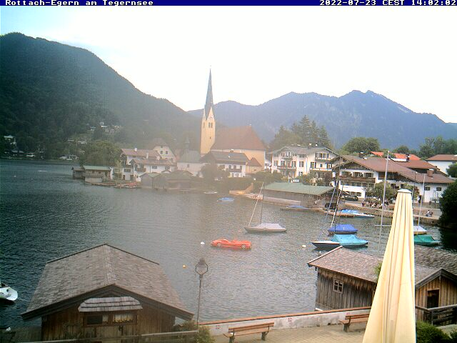 Webcam Rottach-Egern am Tegernsee